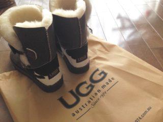 「UGG australian made since 1974」のムートンブーツ