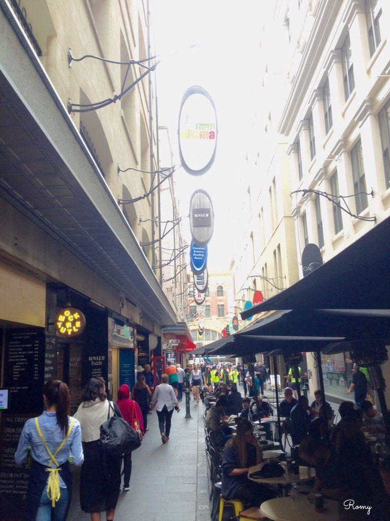 メルボルンのカフェ「Cafe Andiamo」