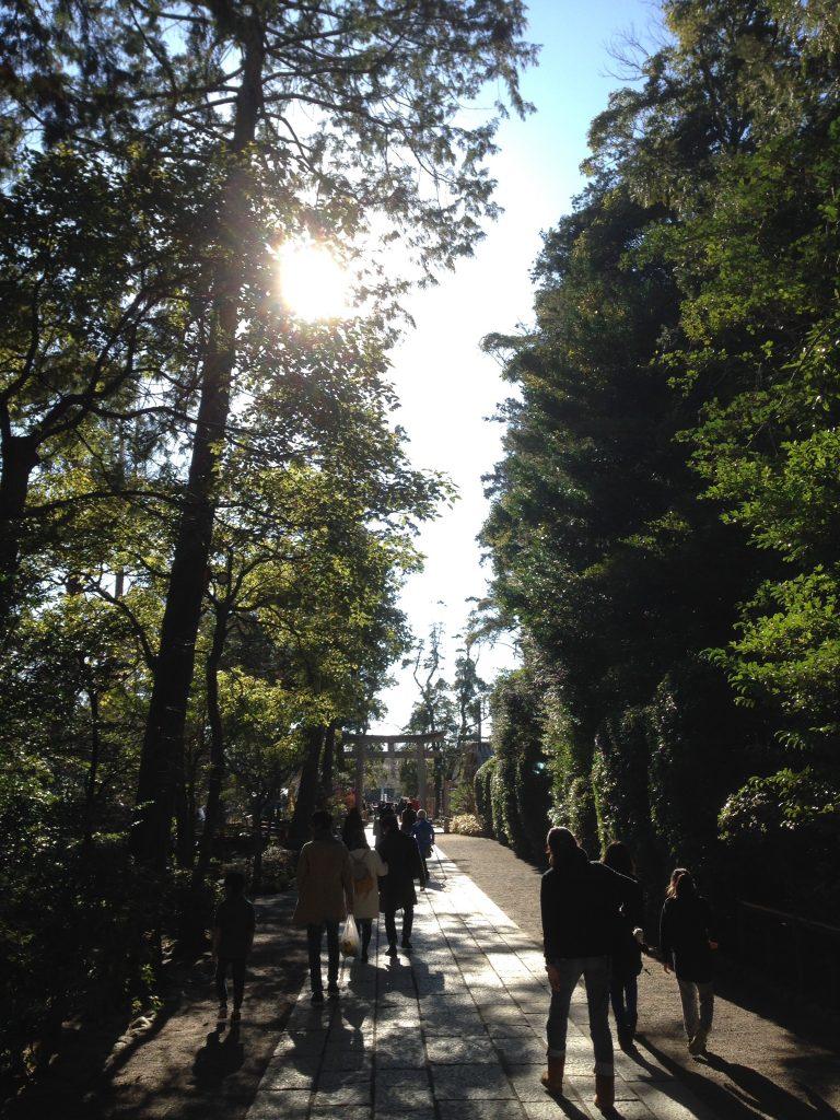 大晦日の鶴岡八幡宮