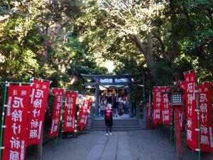 元旦の鎌倉・八雲神社