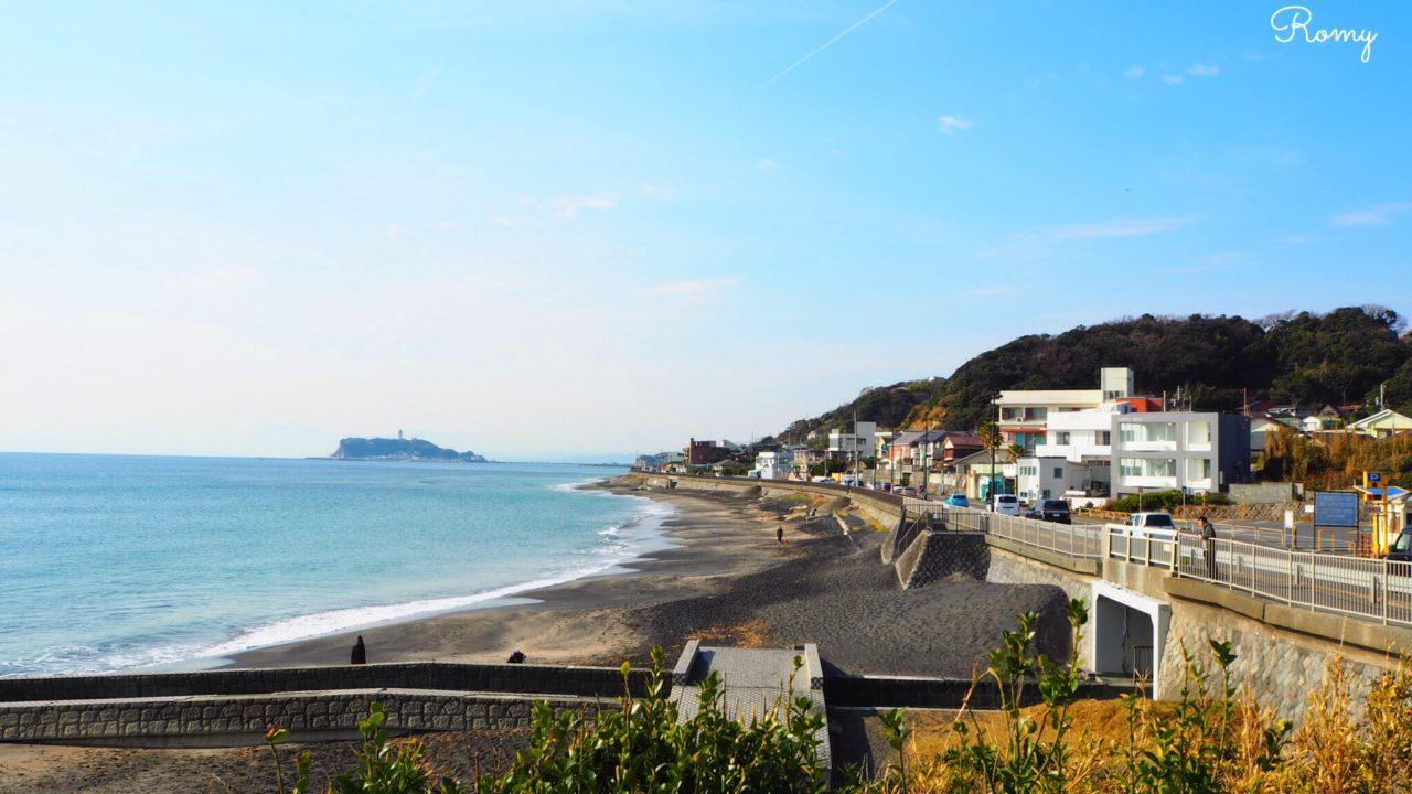 稲村ケ崎から見る江ノ島
