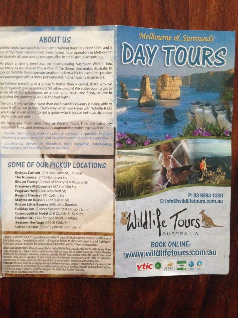 Wildlife Tours Australia(ワイルドライフツアーズ オーストラリア)