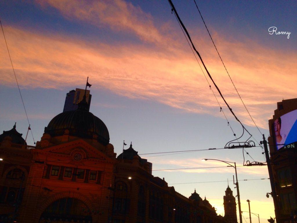 メルボルンのフリンダーストリート駅