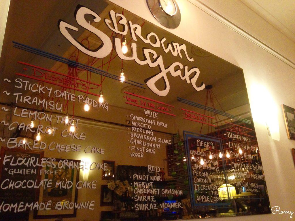 メルボルンのカフェ「Brown Sugar」