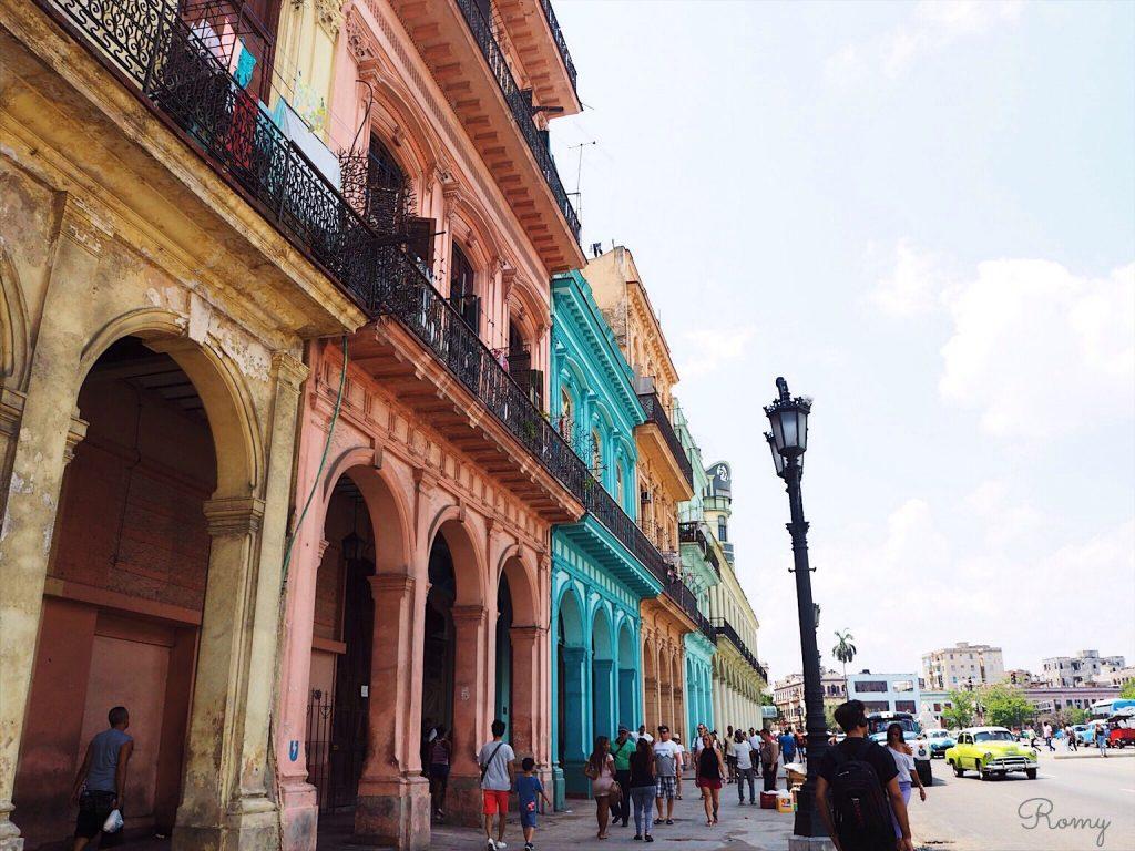 キューバ・ハバナ旧市街