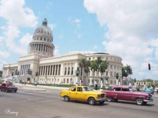 世界遺産・ハバナ旧市街を散策して観光スポット巡り!①カテドラル・国立美術館・大劇場・カピトリオ