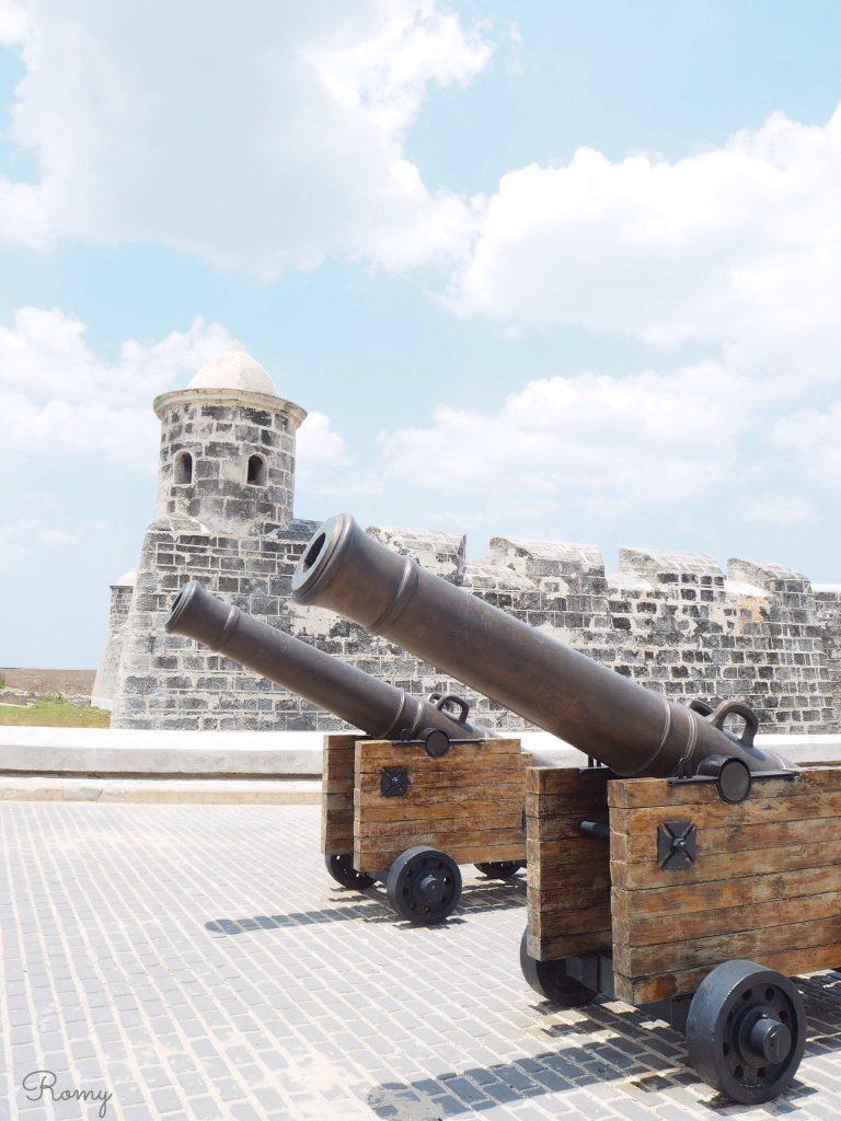 キューバ・ハバナ旧市街のプンタ要塞