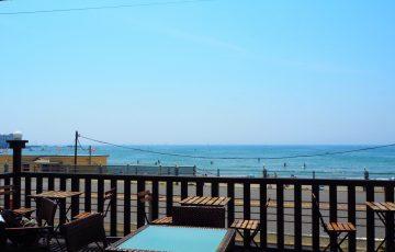 鎌倉・材木座海岸のホアカフェ