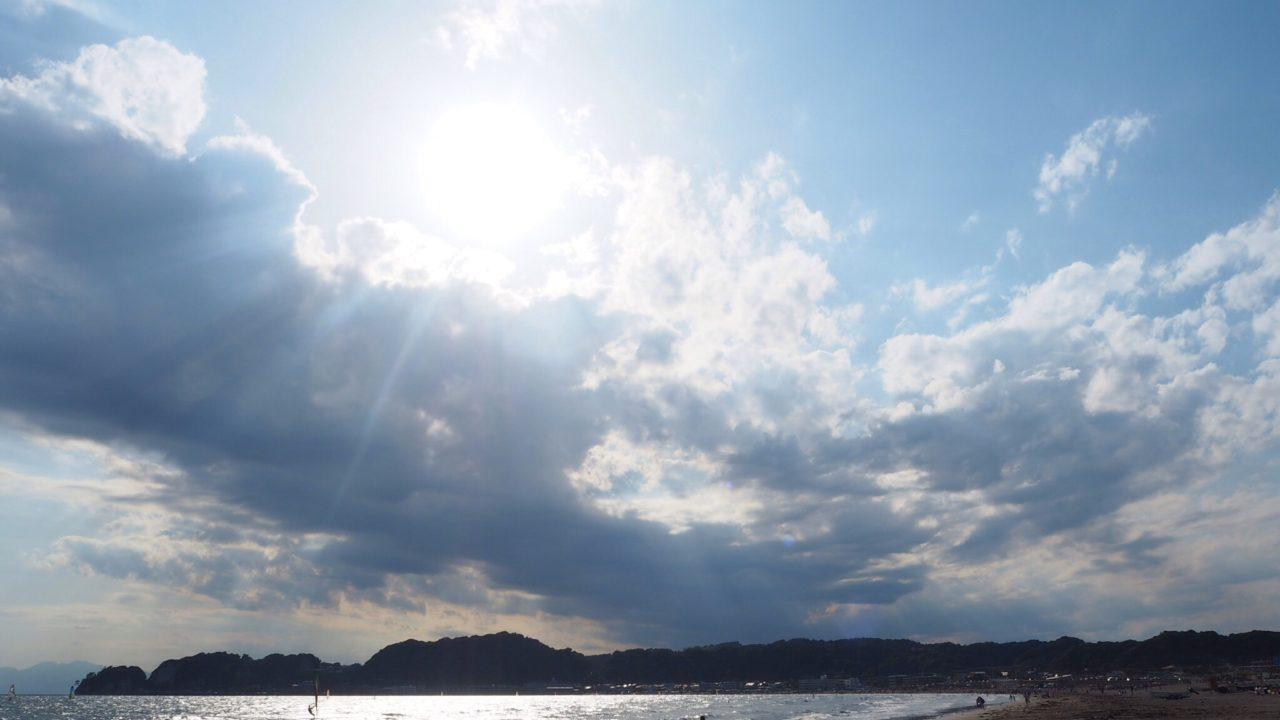 20170605_鎌倉・材木座海岸の夕焼け