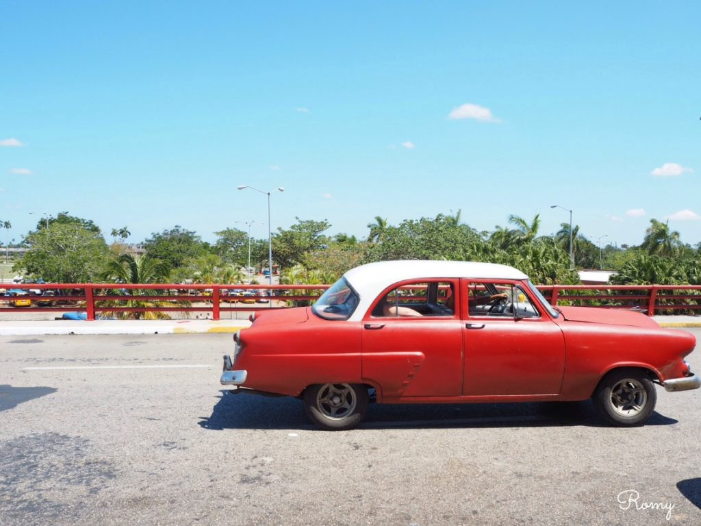 ハバナのクラシックカー