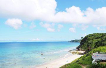 伊豆の『下田プリンスホテル』から見える白浜海岸