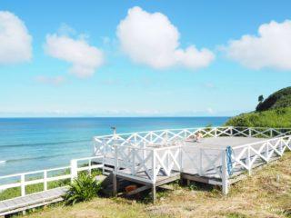 下田プリンスホテルから見る白浜海岸