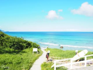家族で伊豆旅行へ!下田・白浜海岸のサーフポイント「プリンス前」を初心者目線でレポ