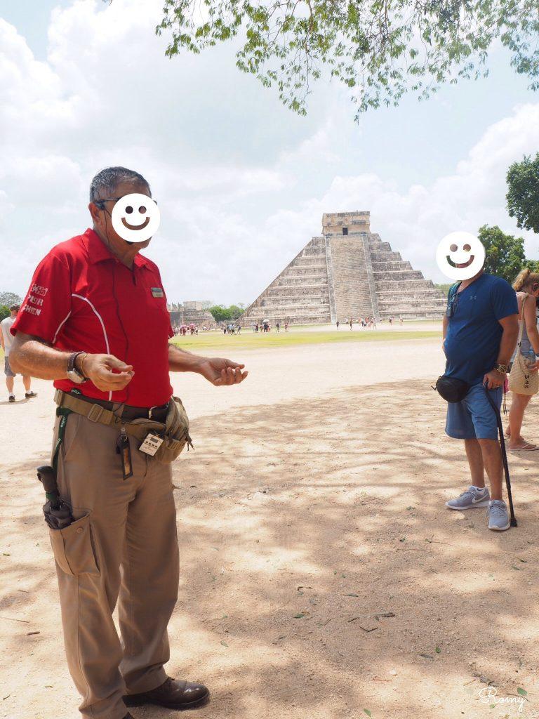 メキシコ・カンクンの『チチェン・イツァ』