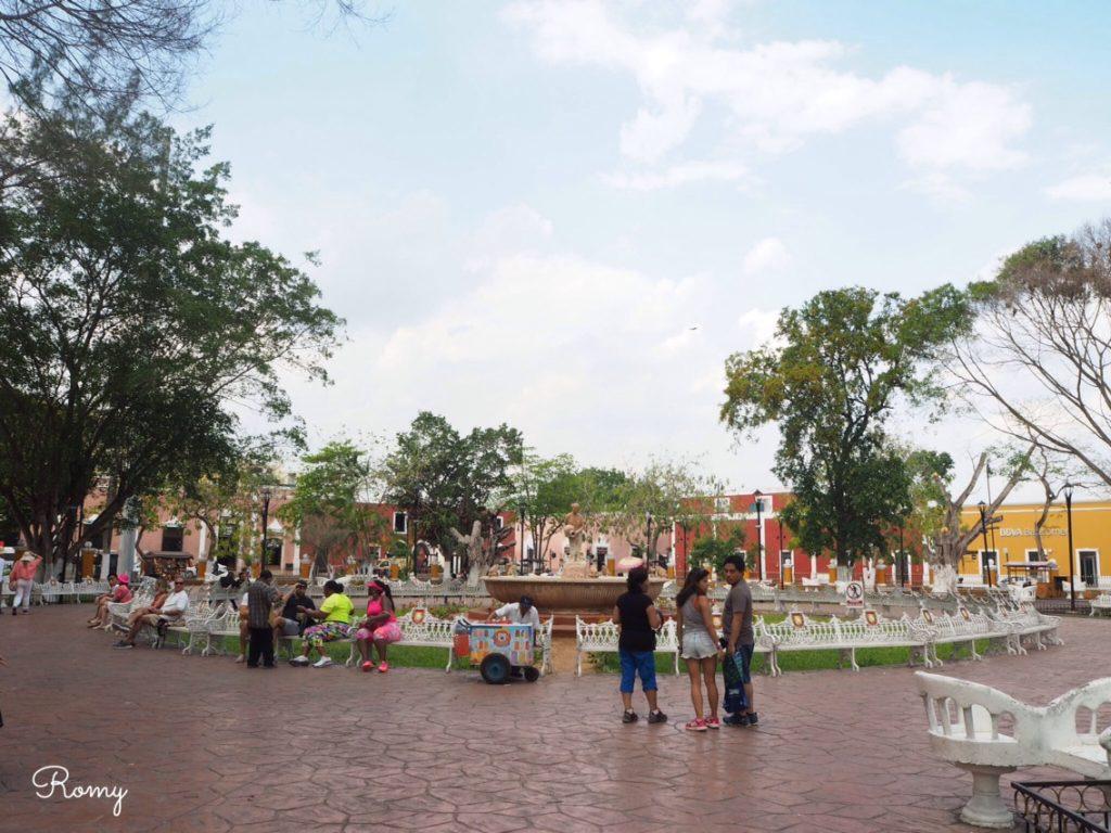 カンクン近くにあるバヤドイドの街