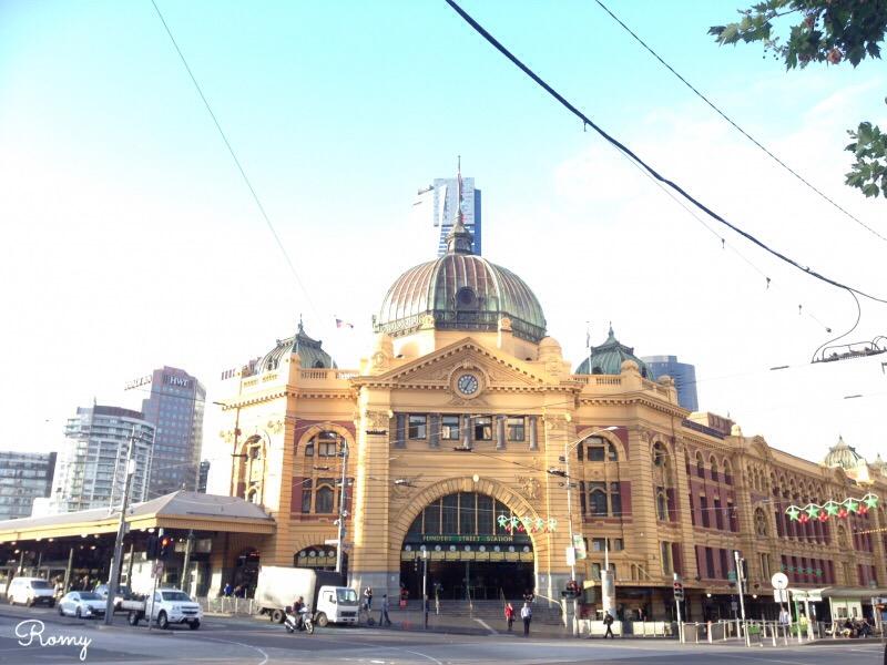 メルボルン『フリンダース・ストリート駅(Flinders Street Station)』