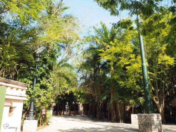 カンクンのエコロジカルパーク「シカレ(xcaret park)」