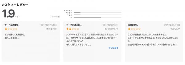 ストレングスファインダーのアプリ口コミ