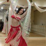 2012年12月ベリーダンスパフォーマンス