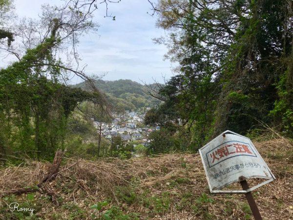 鎌倉「祇園山ハイキングコース」