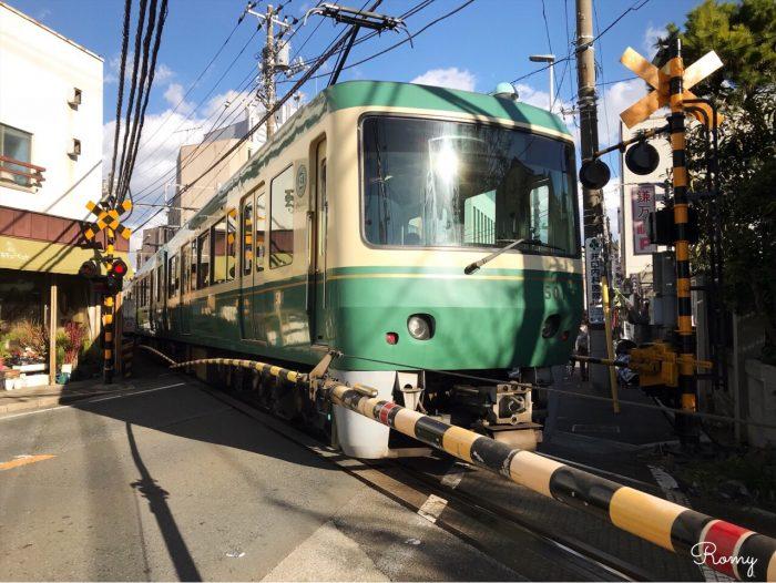 鎌倉の江ノ電