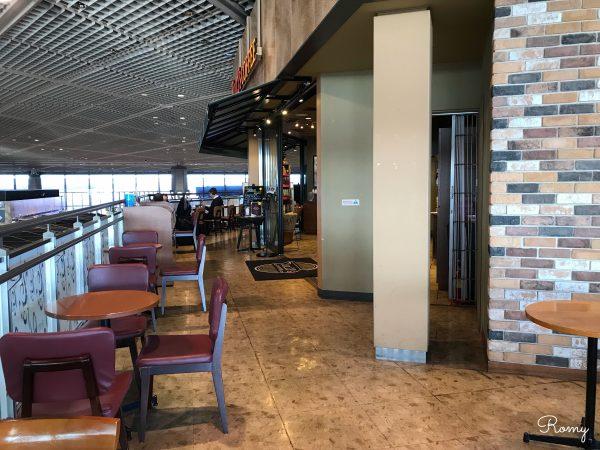 成田空港第1ターミナルの北ウィングタリーズ