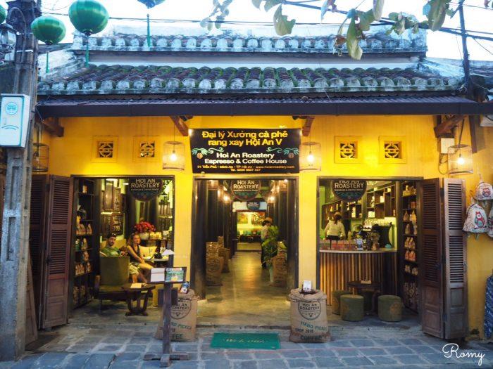 ベトナム・ホイアンの「Hoi An Roastery -Center-(ホイアン ロースタリー センター)」