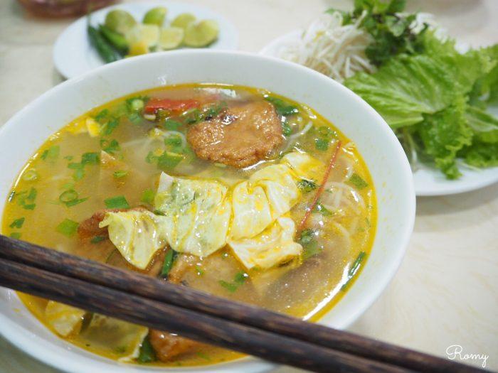 ベトナム・ダナンで食べたブンチャーカー