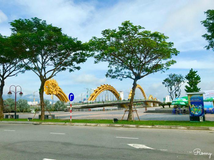 ベトナム・ダナン「ダドラゴン橋/ロン橋」