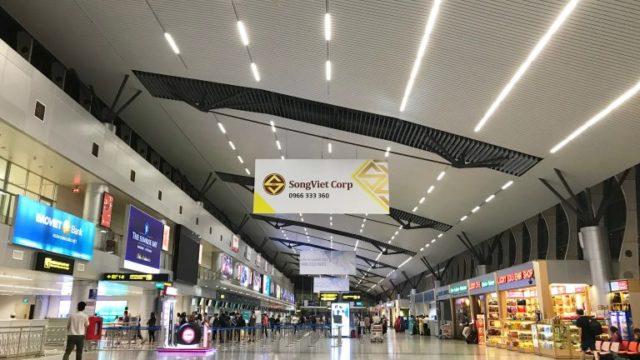 ダナン国際空港の出発ロビー