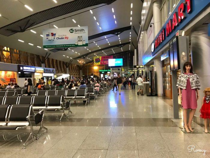 ダナン国際空港の搭乗ゲート