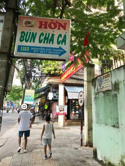 ベトナム・ダナンのブンチャーカー屋