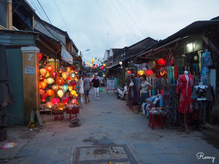 ベトナムの世界遺産ホイアンの街