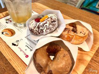 【ミサキドーナツ鎌倉店】かわいくて優しい甘みのホッとするドーナツ。カフェスペースもあり!