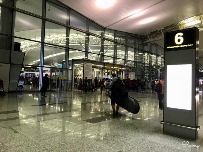 ハノイのノイバイ国際空港
