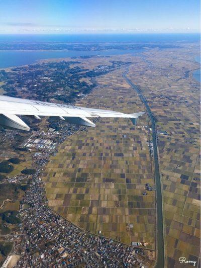 ベトナム航空に乗って見えた日本