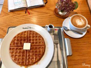 【カフェ ヴィヴモン ディモンシュ】鎌倉の老舗カフェで朝食を!ワッフルモーニングがお得
