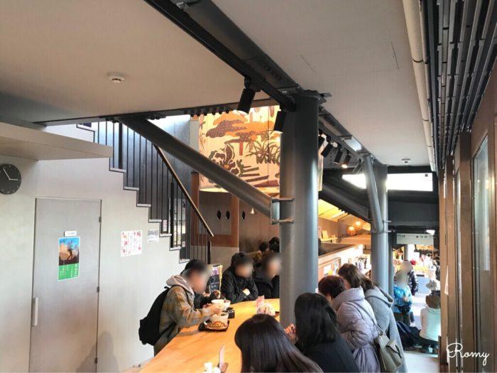 高尾山頂の蕎麦屋さん