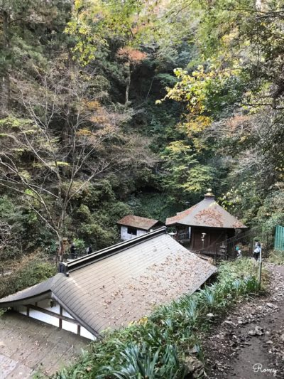高尾山の琵琶滝