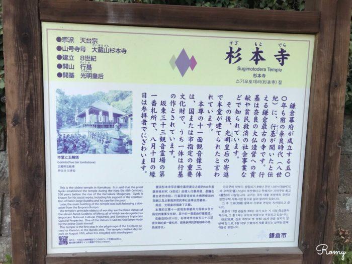 鎌倉の杉本寺