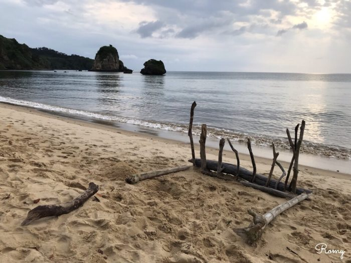 「ホテル ニラカナイ 西表島」の月が浜ビーチ