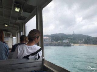 石垣港離島ターミナルから西表島へ
