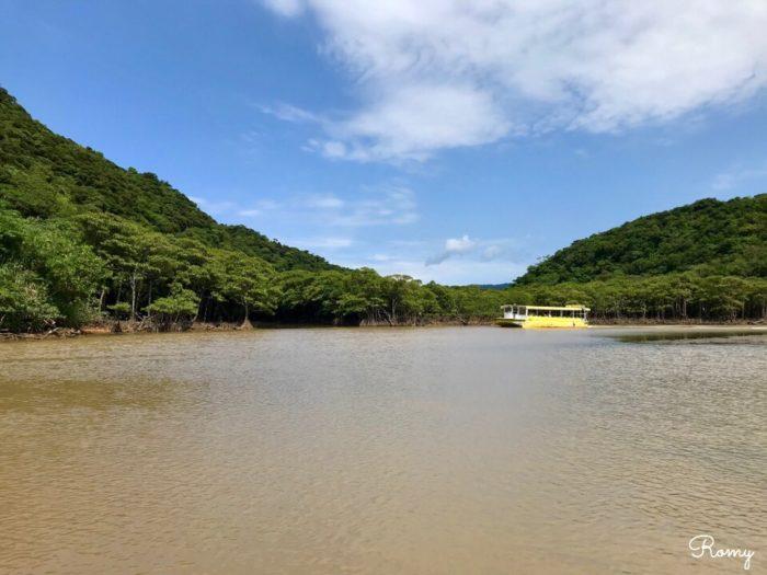西表島の浦内川