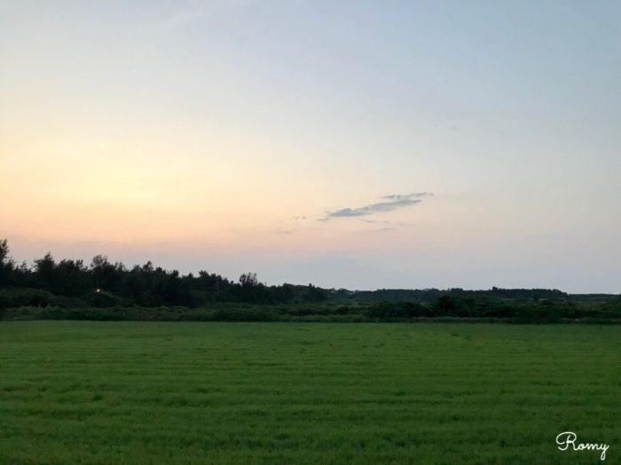 西表島を夕方散策