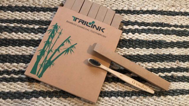 プラスチックフリーの竹製歯ブラシ